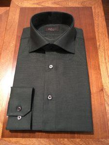 オーダーワイシャツ 黒色写真